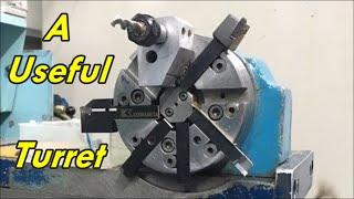 Mini Engine Adaptor in small cnc lathe