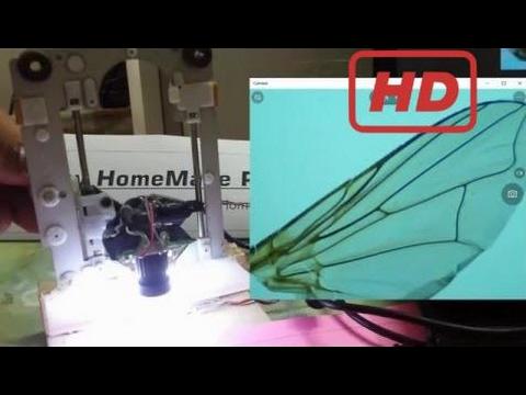 Wie man ein mini usb mikroskop zoom mit webcam zu machen