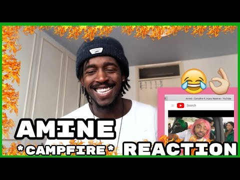 THOSE WIGS LOL! | Aminé - Campfire ft. Injury Reserve REACTION