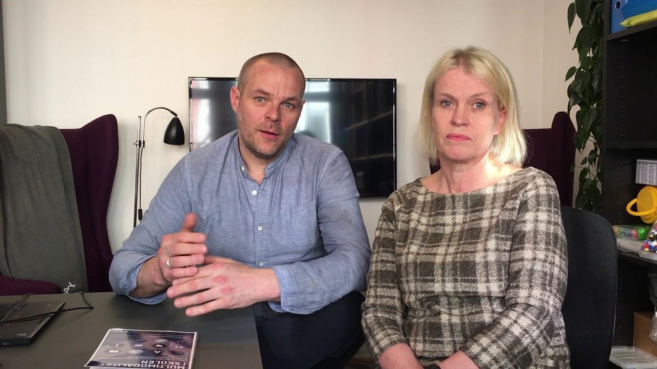 Simon Skov Fougt og Anne Løvland om Multimodalitet i skolen
