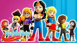 LEGO Серия целиком Сборник | DC Super Hero Girls Россия