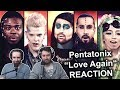 """Pentatonix - Love Again"" Singers Reaction"