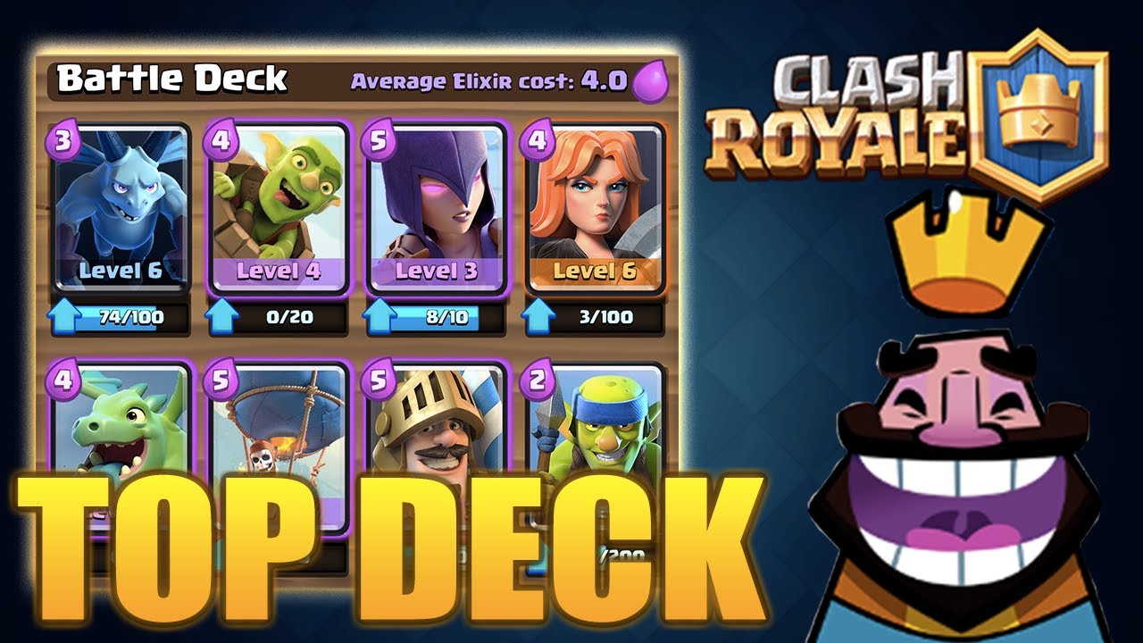 Clash royale best deck troop strategy for arena 7 for Clash royal deck arene 7