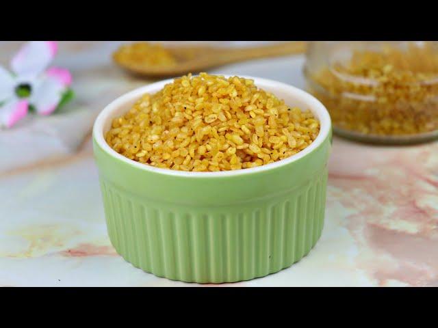ঘরেই বানিয়ে নিন ডালমুট/ মুগডাল ভাঁজা | Moong Dal Namkeen | Dalmuth/Daal Bhaja |Moong Dal Fry Recipe