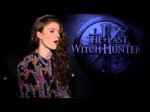 """Rose Leslie Talks About """"The Last Witch Hunter"""""""
