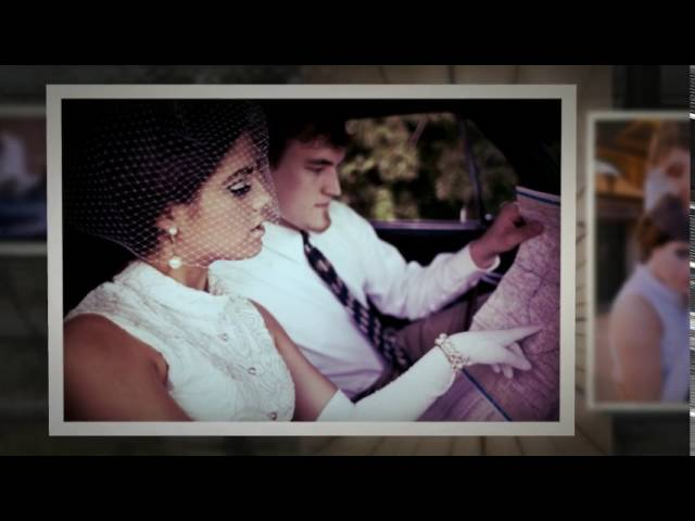 1960s Bride & Groom || Editorial Wedding Photo shoot || SCOTT and ANASTASIA photography