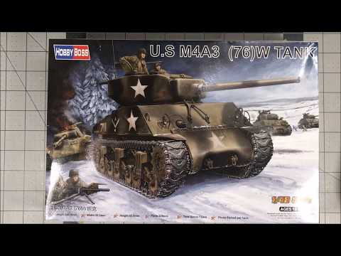 Hobby Boss 1/48 M4A3 (76)W Intro