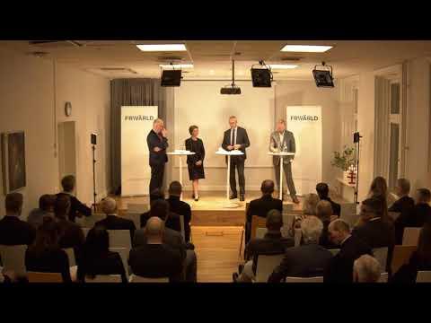 Paneldiskussion på Frivärlds Boklansering