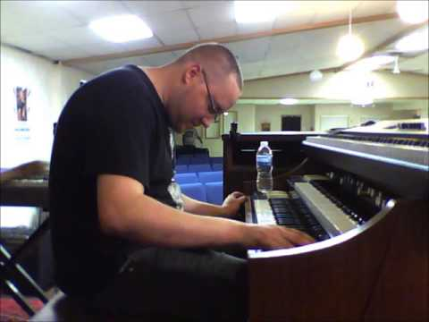 "I Will Trust - Min. David Haynes Rehearsal - Dan ""Spiffy"" Neuman on organ"