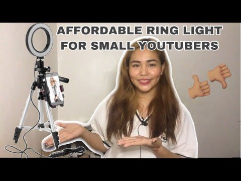 AFFORDABLE RINGLIGHT FOR SMALL YOUTUBERS!!! | MURANG RINGLIGHT REVIEW