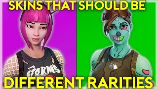 Fortnite Skins That Should Be Different Rarities (Fortnite Battle Royale)