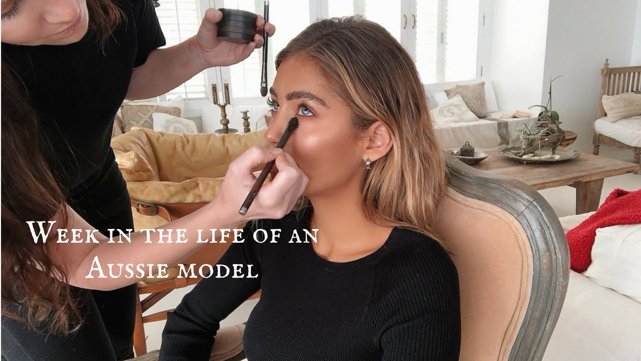 Week in the life of an Aussie model // Belle Lucia