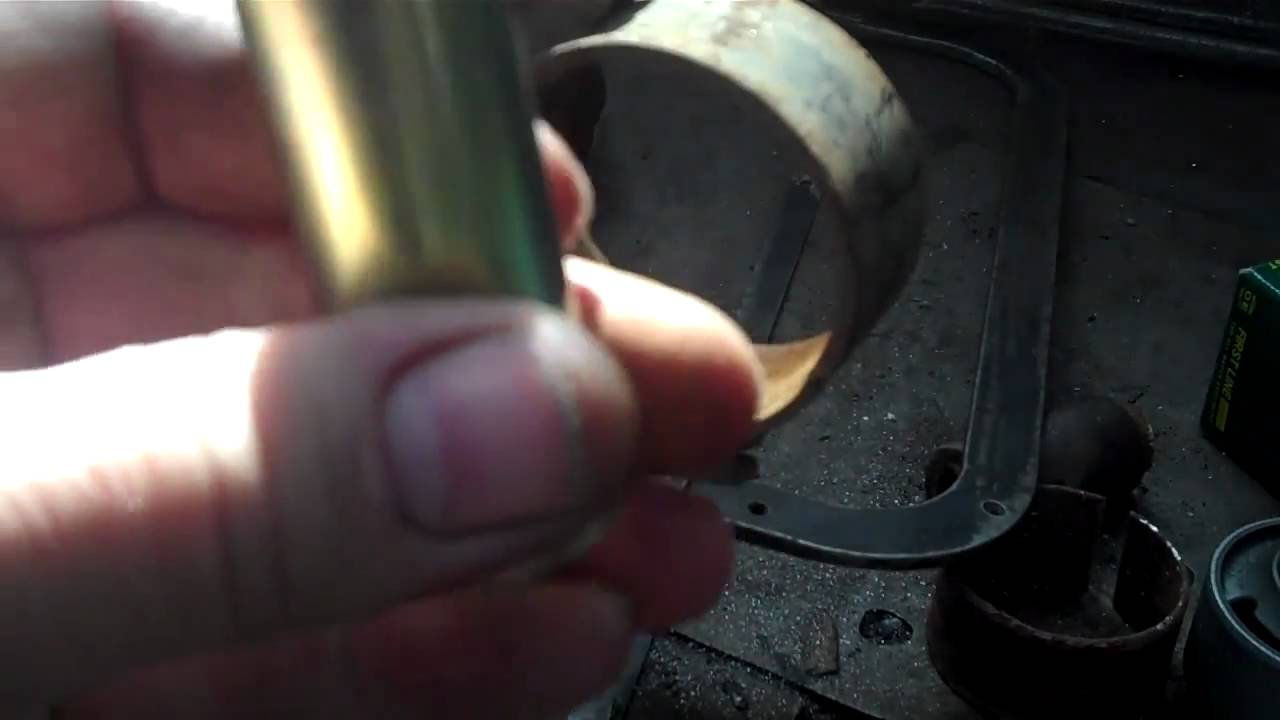 how to fit a lower controle arm bushing on a toyota [ 1280 x 720 Pixel ]