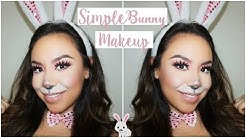 Simple Bunny Makeup | Last Minute Halloween Makeup Tutorial