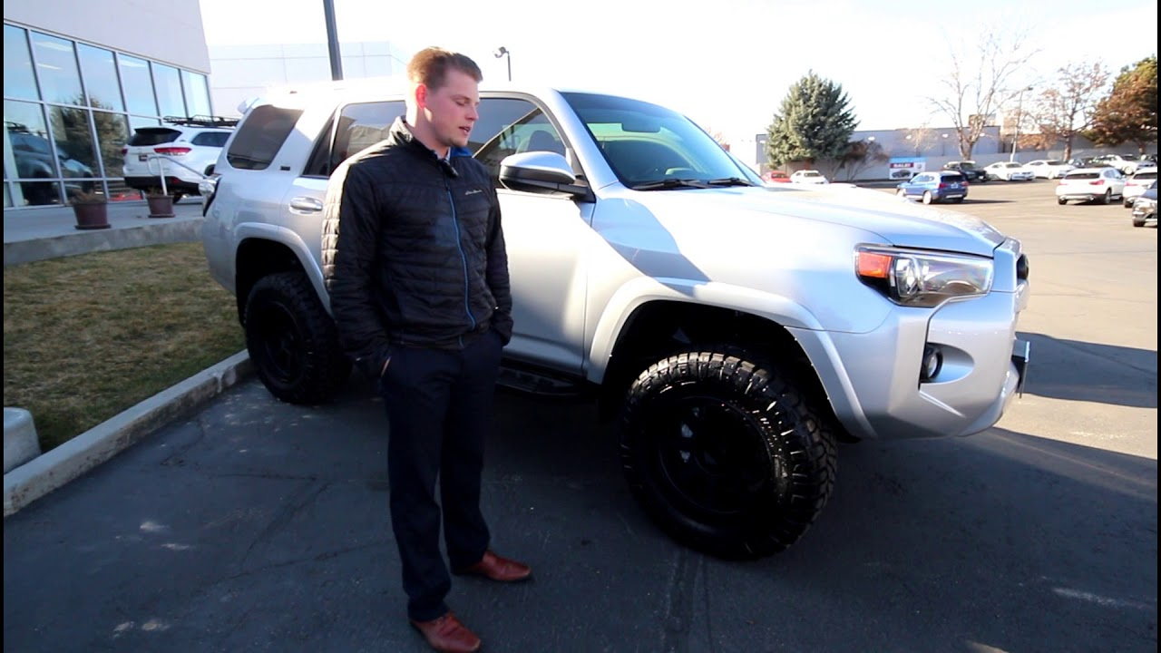 Silver 4runner With Black Out Badges Youtube