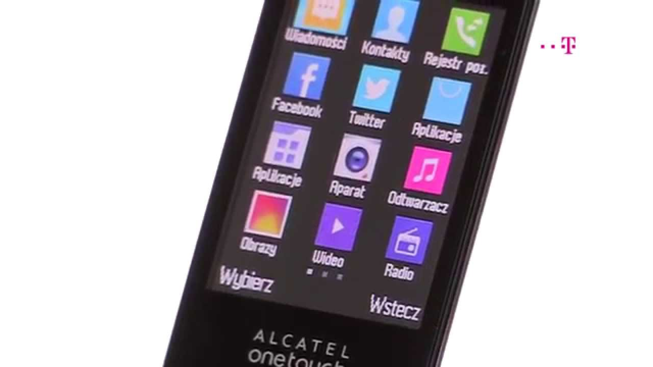 f59387a8ad859 Alcatel One Touch 20.12G – klapka nadal żywa - YouTube