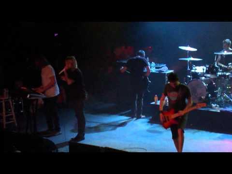 Chiodos - All Nereids Beware (Live at The Troc Philadelphia, PA 8/25/12)
