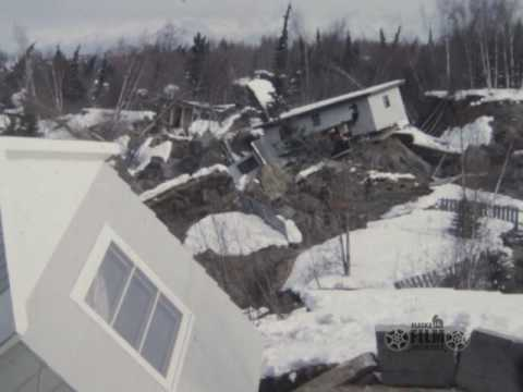 Alaska Air National Guard films of 1964 earthquake damage