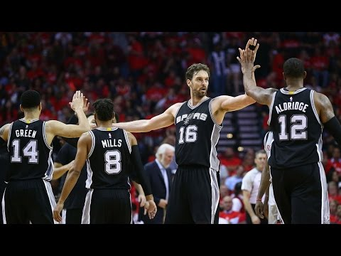 The Best of Spurs from the First Two Rounds of 2017 Playoffs