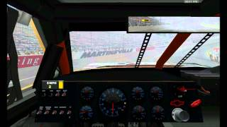 Let´s Race NASCAR RACING SEASON 2003  SE02EP010 - Tums Fast Relief 500 - Pacecar in die Mauer