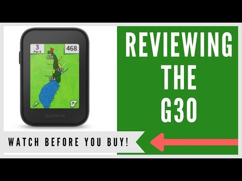 ✅ GARMIN APPROACH G30 HANDHELD GPS: AN HONEST REVIEW