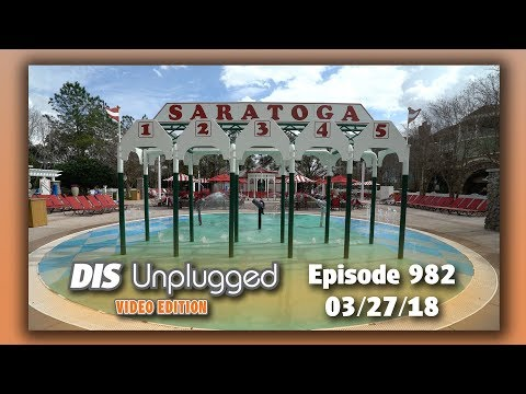 Disney's Saratoga Springs Resort | 7 in 7 Review | 03/27/18