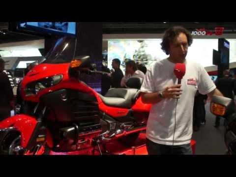 Premiere Honda Gold Wing F6B News 2013 EICMA 2012