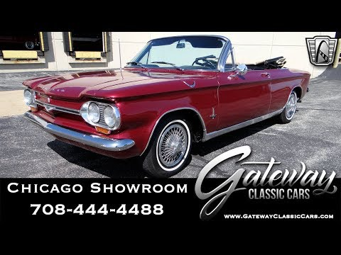1964 Chevrolet Corvair Monza - Gateway Classic Cars #1667 Chicago