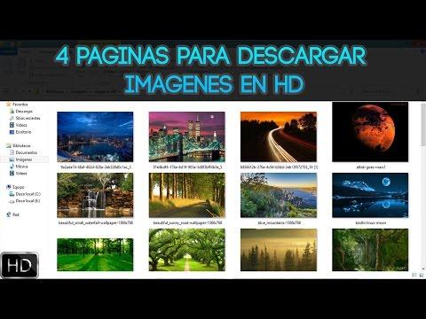 4 Páginas para descargar imágenes en HD | Gratis | Fácil y Rápido | 2016