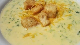 VELVEETA BROCCLI CHEESE SOUP - How to make BROCCOLI CHEESE SOUP