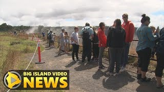 Visitors Crowd Reopened Hawaii Volcanoes National Park (Sept. 22, 2018)