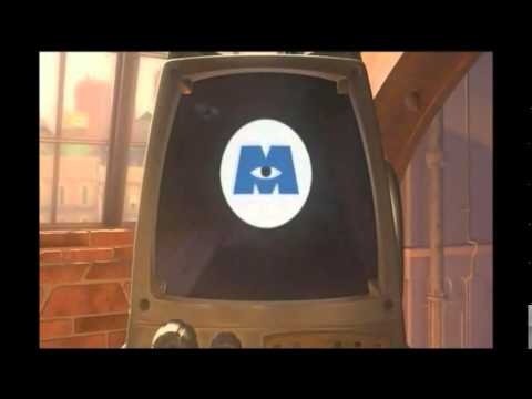 Monsters Inc - I am on TV :)