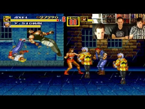 Streets of Rage 2 (Sega Genesis) Live Stream with James Rolfe, Mike Matei & Ryan Schott