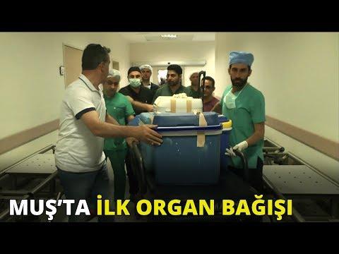 Muş'ta ilk organ bağışı
