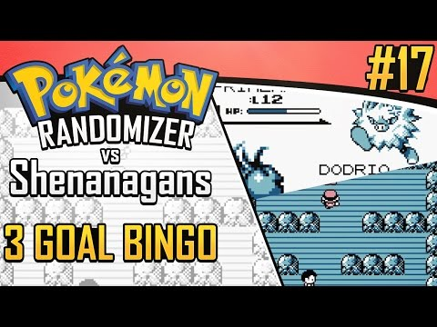 Pokemon Randomizer 3 Goal Bingo vs Shenanagans #17