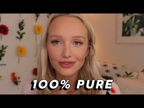 Full Face Of First Impressions! Ft. 100% Pure 💄🌸 (Vegan, Cruelty Free, Fruit Pigmented, Natural)