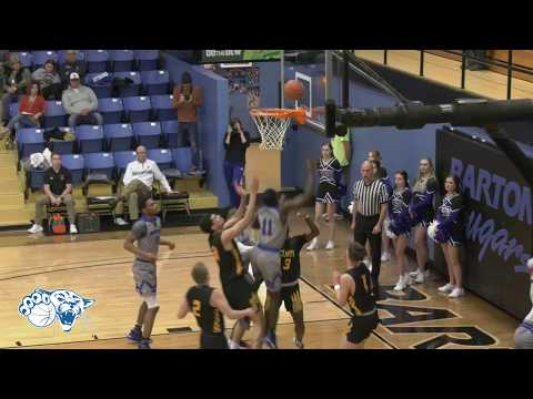 Barton Men's Basketball Win vs. Cloud County Community College