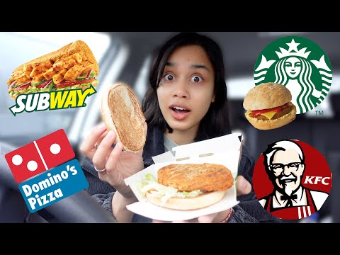 taste testing VEGAN FAST FOOD *2021 edition* | clickfortaz