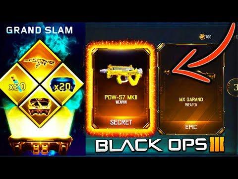 BEST GRAND SLAM BLACK OPS 3 SUPPLY DROP OPENING! BO3 GRAND SLAM CONTRACT COMPLETE! BO3 SUPPLY DROPS!