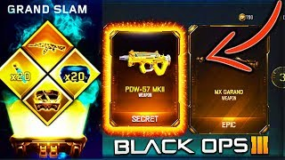 BEST GRAND SLAM BLACK OPS 3 SUPPLY DROP OPENING! BO3 GRAND SLAM CONTRACT COMPLETE! BO3 SUPPLY DROPS!