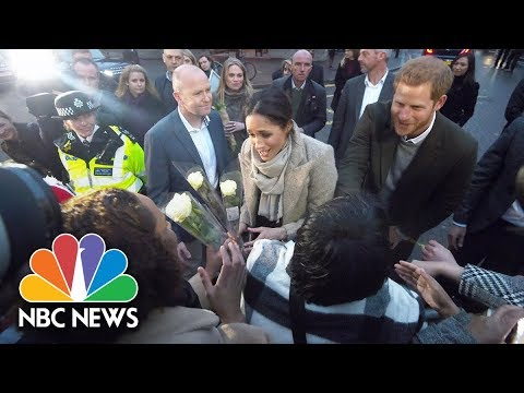 Cheering Crowd Welcomes Prince Harry And Meghan Markle To Brixton | NBC News