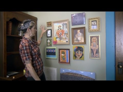 Art and Photo Wall Cluster | At Home With P. Allen Smith
