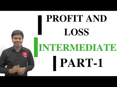 PROFIT AND LOSS #INTERMEDIATE-1