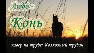 Конь (Любэ) кавер на трубе
