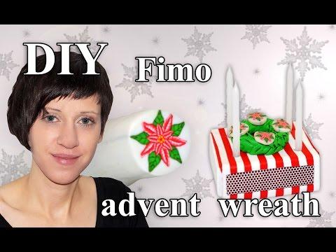 fimo-adventskranz:-polymer-advent-wreath---tutorial-[hd/de]-(en-sub)