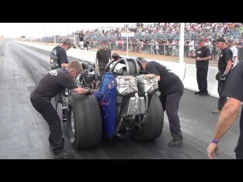 Craig Racing Nostalgia Top Fuel Sacramento Raceway Governor`s Cup 2015