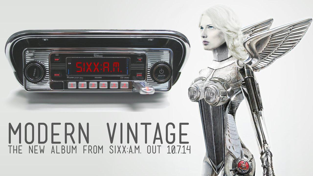 Sixxa m modern vintage album teaser