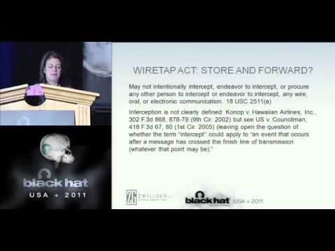 BlackHat 2011 - The Law of Mobile Hacking