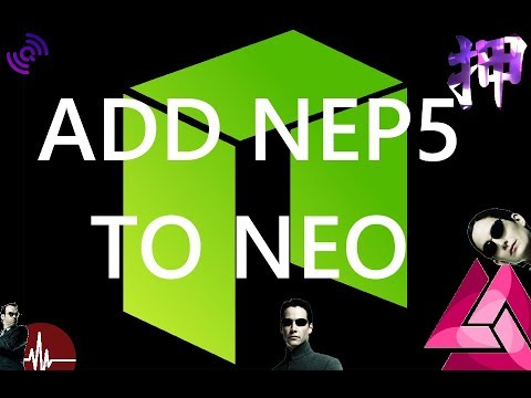Add NEP5 Tokens To Your NEO Wallet