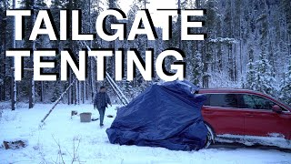 Mountain SUV Tailgate Camping